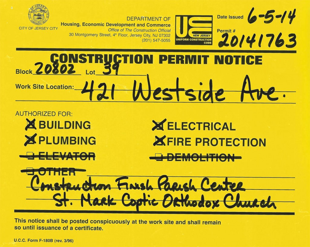 Construction Permit 1