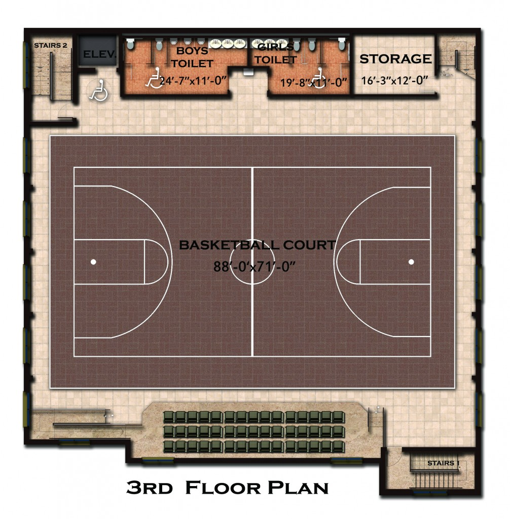 basketball court-Model