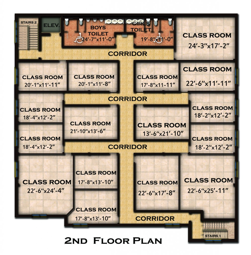 New Building Floor Plan And Features Coptic Orthodox