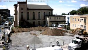 Demolition Completed, Foundation Started